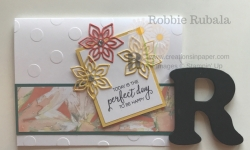 Polka Dot Basics embossing folder Archives - Creations in Paper