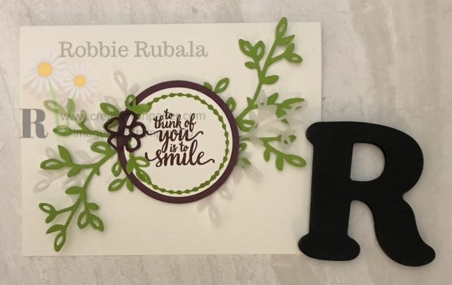 Do you like simple greeting cards? Here is an idea that is a very pretty card that anyone would love to receive.