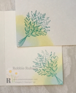 Did you know you can use your inks for stamping to create beautiful blended colors? Click through to see how I created this simple but beautiful card.