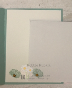 Look at this pretty Daisy Delight Stampin' Up card. You can find out what colors were used by clicking on the photo.