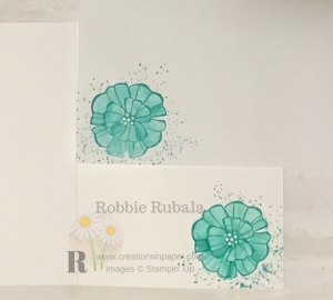 Make sure you click through to see my washi tape background for a card idea.