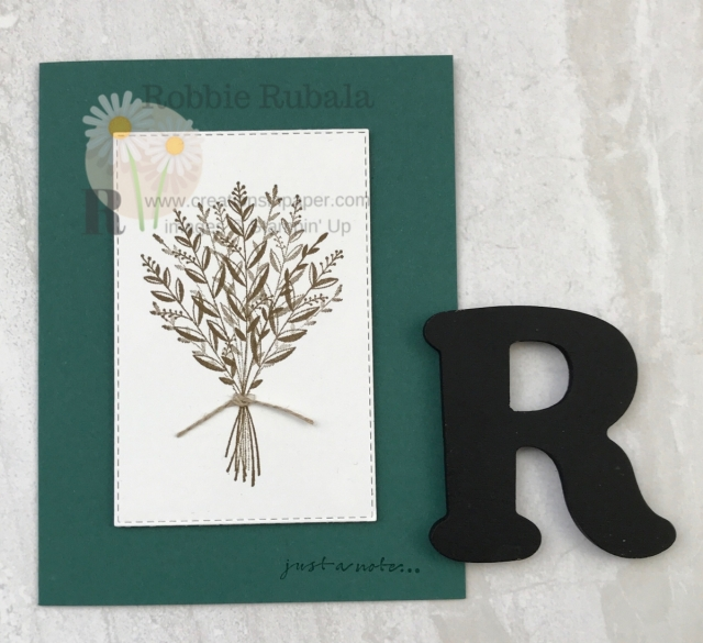 This is a great simple masculine Thinking of You Card. Make sure you click the photo for all the details.