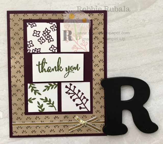 Check out this unique Handmade Thank You Card Design! Get all the measurements by clicking the photo.