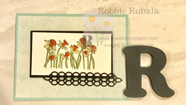 Want to see how I created this Stampin' Up You're Inspired Colored with Glycerin creation. Click the photo to see the video.