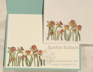What is your favorite way to color an image? Check out my Stampin' Up You're Inspired Colored with Glycerin card front by clicking the picture.