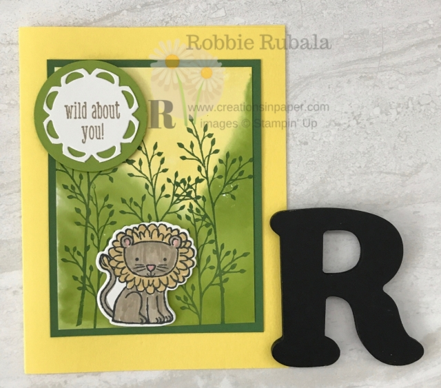 Check out this cute kids card that has a Watercolored Background Idea. Get the details by clicking through.