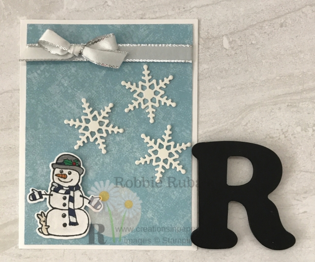 Are you always looking for cute snowmen for your cards? Check out this one I used to create my Cute Snowman Handmade Card. Click the photo for the information.