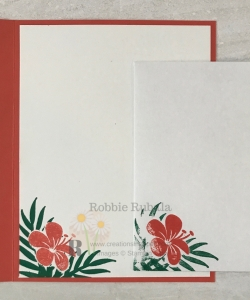 Isn't this a cute image? If you like this image make sure you click through to see the Stampin' Up Tropical Chic in Calypso Coral idea.