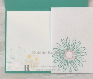 The Daisy Delight stamp set is a beautiful image. Click the photo to see how the Daisy Punch Makes a Great Card.