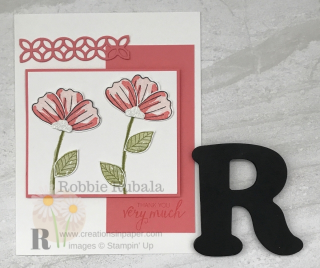 Do you like using your punches to make flowers? Check out this Stamped Punched Flower Card. Click the photo to get all the details.
