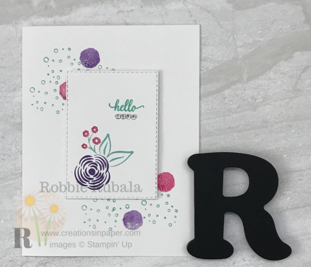 Here is a Simple Stamping Hello card that is perfect for All Occasions. Click the photo for all the details.