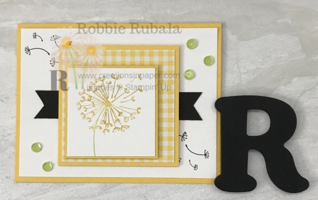 Have you ever blown a dandelion head? Check out my paper version with this Stampin' Up Dandelion Wishes Handmade Card.
