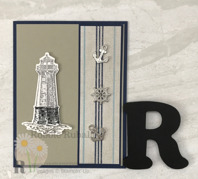 Are you always looking for masculine card ideas? Check out this Come Sail Away Bundle creation by clicking the photo.