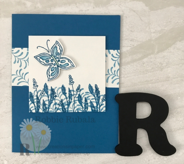 Check out this gorgeous Monochromatic Card Idea creation. Want to know how I made it? Click the photo to see the video.