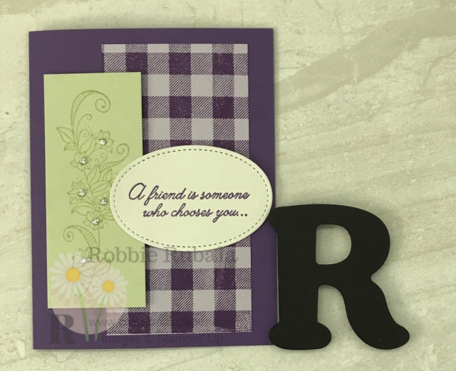 Sending a special friend a handmade card is a great way to let them know how much you appreicate them. This Beauty Abounds Friend is a great card to make and send.