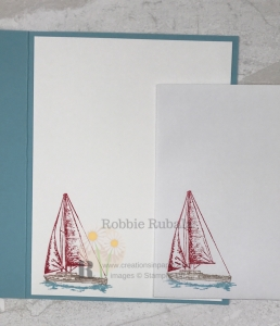 This sailboat is part ofa new suite from Stampin' Up. Click through to see how I used it to create my Come Sail Away Suite from Stampin' Up card.