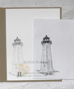 Check out my version of Southern lighthouses. To see the card front of my Another Sailing Home Idea, click the photo.
