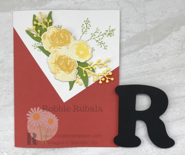 An interesting card front is perfect for a WOW card. Here is an idea for an Angled Front Handmade Card.