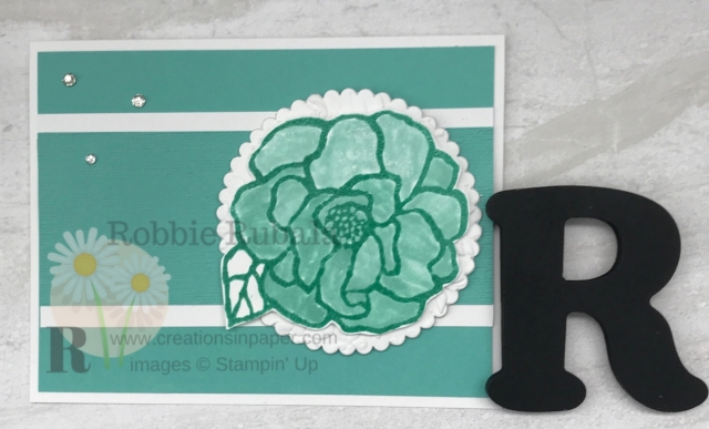 Have you tried glycerin coloring? Here is an idea for a Monochromatic Handmade Beautiful Day Card.