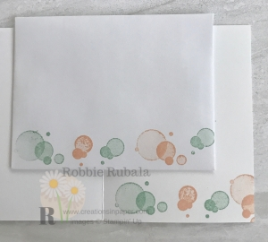 Aren't these bubbles cute? Check out how I used them on the front of my Clean and Simple Beautiful Friendship creation by clicking the photo.