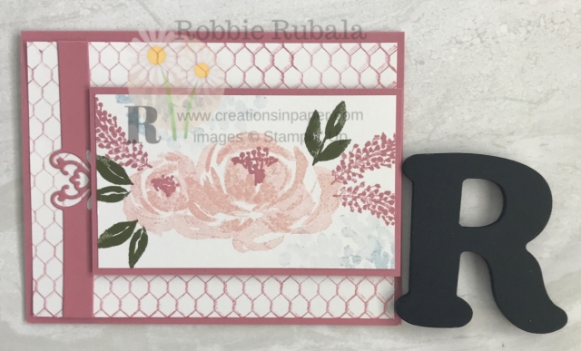 Need a quick and easy feminine card? Here is a Beautiful Friendship from Stampin' Up idea that is really pretty. Click the picture to get all the details.
