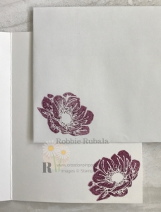 This flower goes very well with the new washi tape. Click the photo to see my Pressed Petals Washi Tape Flower creation.