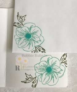 This lovely flower is the focus on my Dry Embossed Unique Card Front. Click the picture to get the details.