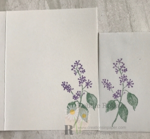 This is a favorite image of mine. See the video for the Stampin' Up First Frost card by clicking the picture.