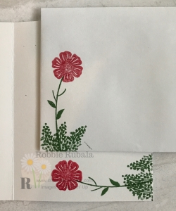 This image makes a gorgeous card front. Click the picture to see my Stampin' Up Beautiful Bouquet Highlighted creation.