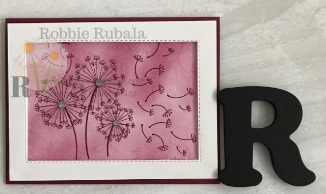 Do you like wishing on a dandelion? The Momochromatic Dandelion Wishes is a great card to make a wish on. Check out all the details of this framed card by clicking the photo.