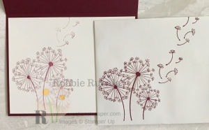 As a kid we all loved blowing dandelions. I used this idea for my Monochromatic Dandelion Wishes. Click through to see how I used this image on my card front.