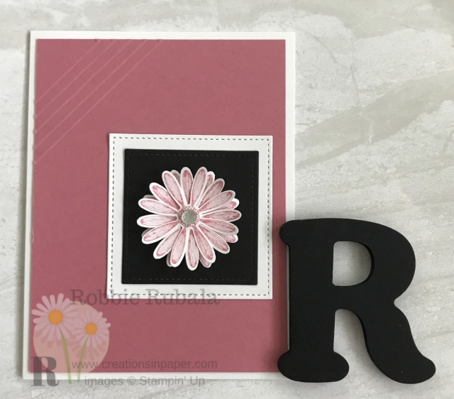 Adding an accent of some kind can add interest to your card. Check out the video for this Dry Embossing for an accent on your Handmade Card idea. Click the picture.