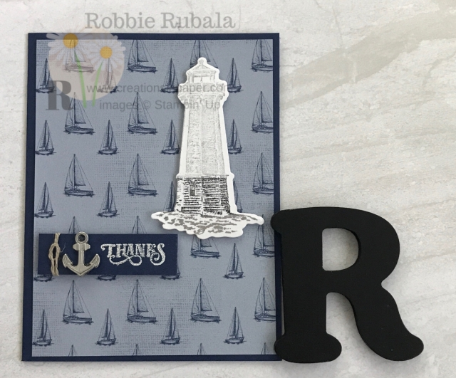 Need a thank you card and it has to masculine? Check out this idea for a Sailing Home Thanks card by clicking the photo.