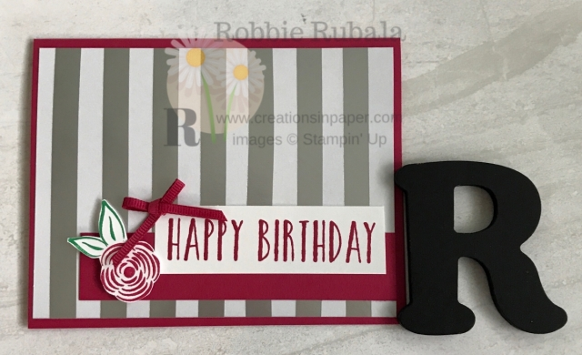 Want a quick cute Happy Birthday card? Check out my Feels Like Frost Happy Birthday creation. Click through to see the video.