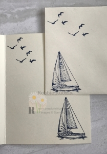 These images made a great card front with some angles. Check out the Sailing Home Masculine Fast and Fabulous idea.