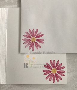 This cute daisy makes a perfect element for the Clean and Simple Daisy Lane Bundle. Check out the video.