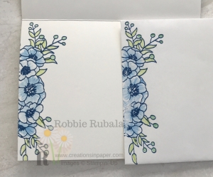 This beautiful image was used to color on dark card stock. You need to see this Stampin' Up Watercolor Pencils creation.