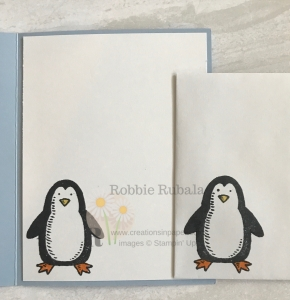 This adorable penguin makes a great winter card. Find out how I made my Stampin' Up Let It Snow Penguin card.