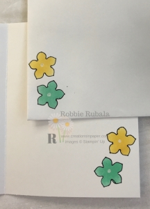 Do you recognize these flowers? They were made using a stencil created from a punch. Don't miss the #ShopYourCraftStash Petite Petals Punch creation.