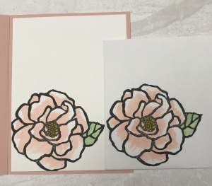This big image is a great one to play with coloring. Don't miss this Beautiful Day Colored Rose idea.