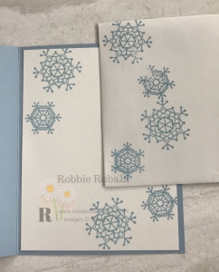 Snowflakes are great to watch fall. I love using them on my cards. See how the dies for these snowflakes were used for my Fast and Fabulous Seasonal Layers Dies card.