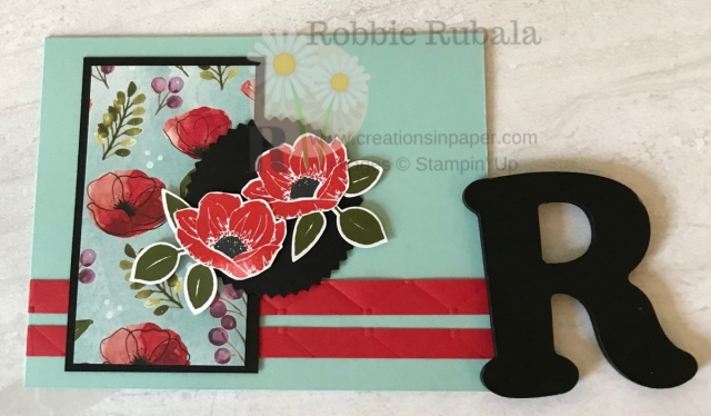 Check out this new designer series paper that is paired with a current stamp set. Get the information for my Peaceful Poppies Meets Floral Essence creation.