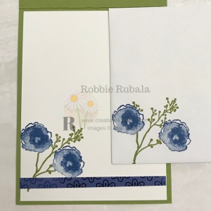 This adorable image and designer series paper makes a great card front. See the Noble Peacock Designer Series Paper card information.