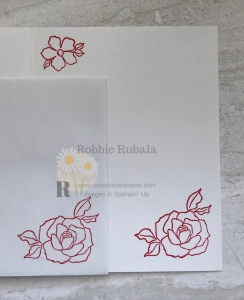 These images are fun to play with. See how I used them for my Poppy Parade With Tea Together birthday card.
