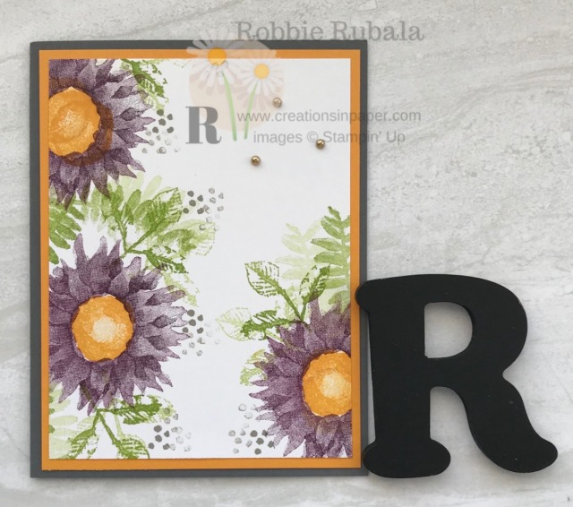 Are you looking for a Painted Harvest Quick and Easy idea? Check out this card for a simple idea.