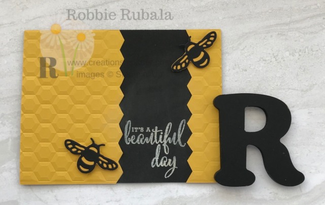 Don't have the new bees bundle yet? Pull out your Detailed Dragonfly dies to create this fun #ShopYourCraftStash Beautiful Day card.