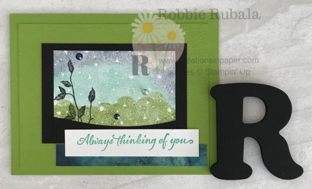 Need a fresh idea for the Bokeh Dots stamp set? Check out the video for the Bokeh Dots with Very Versailles to see how I used the Annual Catalog to create this great card!