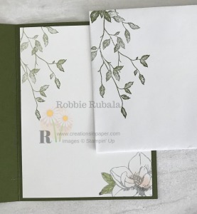 See how I used these 2 images on my card front. Get the details for my Magnolia Blooms Meets Very Versailles creation.