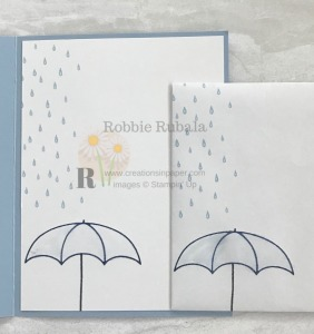 These images were used on the card front for the cutest friend card. The Umbrella Weather Friends card is the perfect card for a great friend.