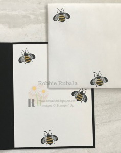 These cute bees make a great element on the Bee Hello Sketch Idea. Get all the information for a fun card.